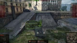 Эпичные дибилы в World of Tanks - СУ-14 легла набок и долбится с ИС-3