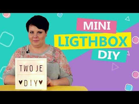 Jak zrobić 3 rzeczy samemu - mini lightbox, jeżyki i lifehack
