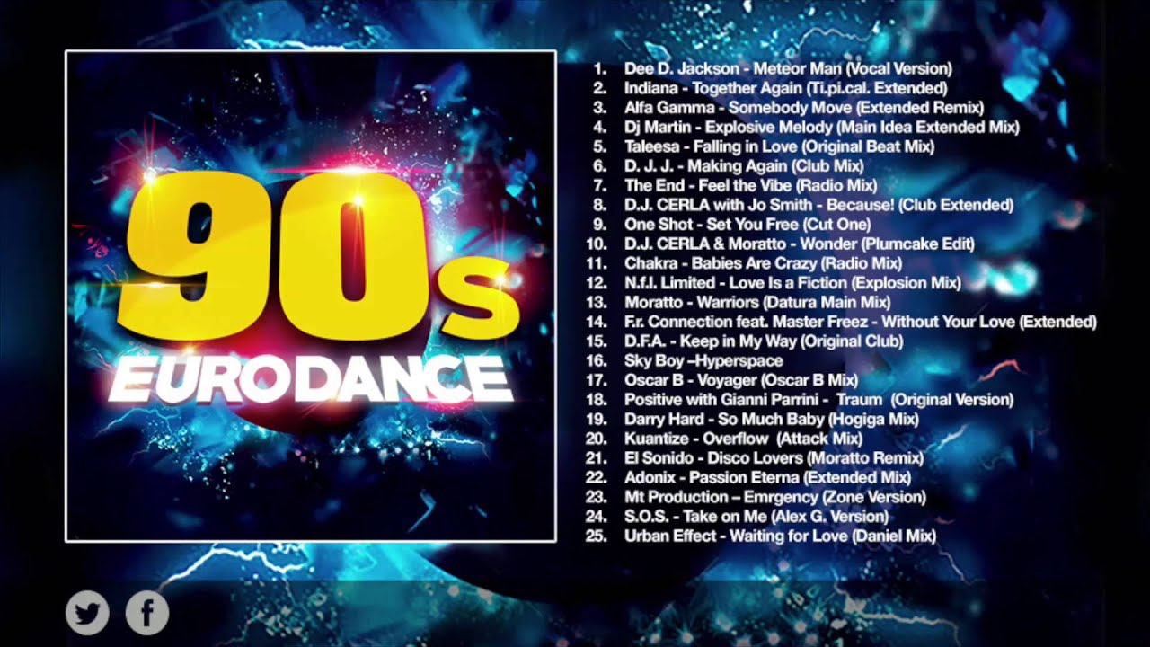 Download 90S EURODANCE [FULL ALBUM]