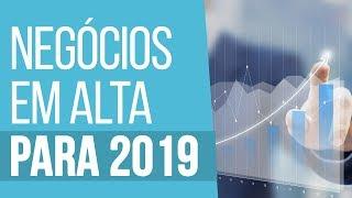 NEGÓCIOS EM ALTA PARA 2019