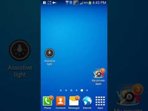 auto touch for android