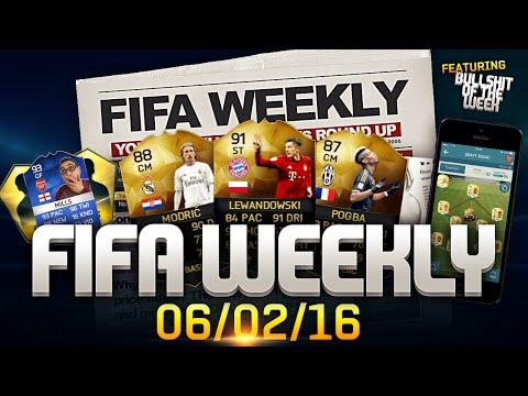 FIFA Weekly 06/02/16 - Winter Transfers, Teal Items, Monkey Packs, FIFA Bullshit