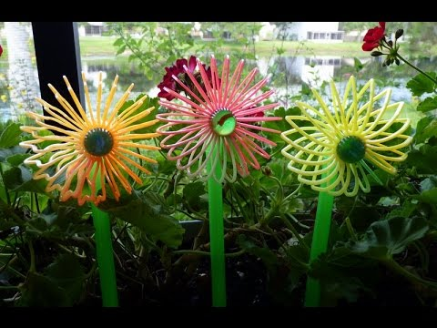 Recycled Plastic Drinking Straws Ideas YouTube
