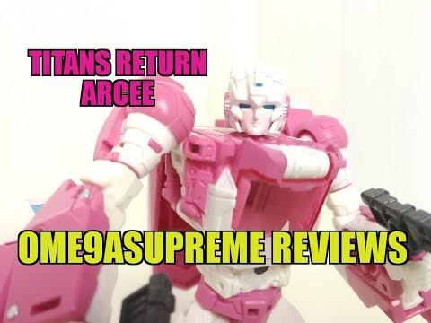 Hascon 2017 - Titans Return Arcee & Ultra Magnus Transformers Review