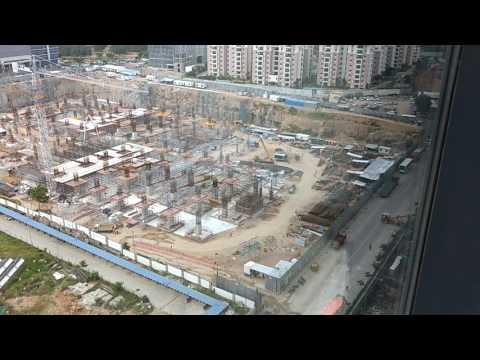 New Amazon Office Building Hyderabad - Under Construction