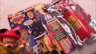Firefighter Fireman Sam and Jupiter Comic Issue 101 with squirting Fire Extinguisher | MGTracey