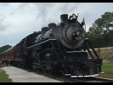 Train Ride at the Tennessee Valley Railroad Museum in Chattanooga