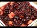Homemade Cranberry Apple Chutney Sauce