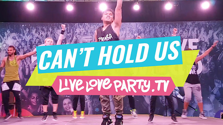 cant hold us down  zumba with zj marlex  live love party