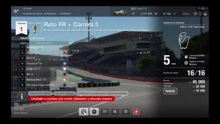GT SPORT-Modo campaña: GT League-Liga Amater #Reto FR/Carrera 5# PS4.