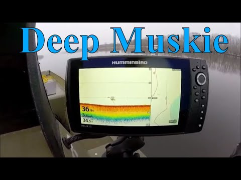 Muskie Fishing Fredericton NB Canada December 2017