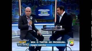 Cláudio Duarte no programa do Ratinho dois dedos de prosa CanalSRV2 vídeo 1