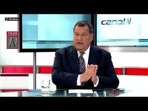 Ministro de Defensa Jorge Nieto en Agenda Política (Canal N)