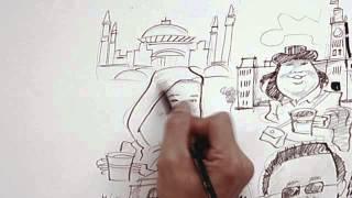 NESCAFÉ GOLD Coffee Doodle -- Week 3 (Nur Aiza - Hagia Sophia, Turkey)