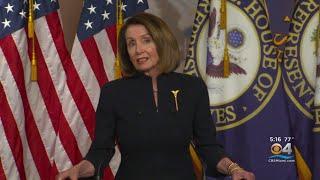 US House Speaker Nancy Pelosi On Parkland Shooting