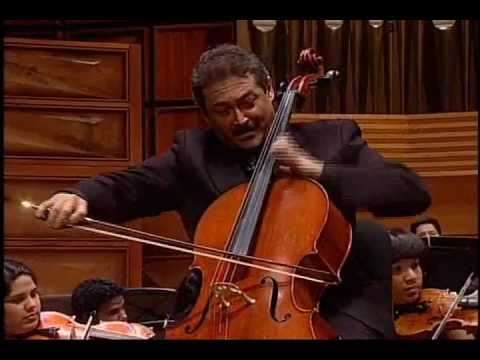 EDWARD ELGAR: Salut d'Amour.Cello: William Molina Cestari: Eduardo Marturet. TCYSOV