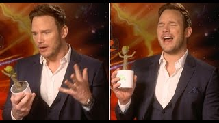 Chris Pratt Had A Dance Off With Baby Groot & It Was LIT