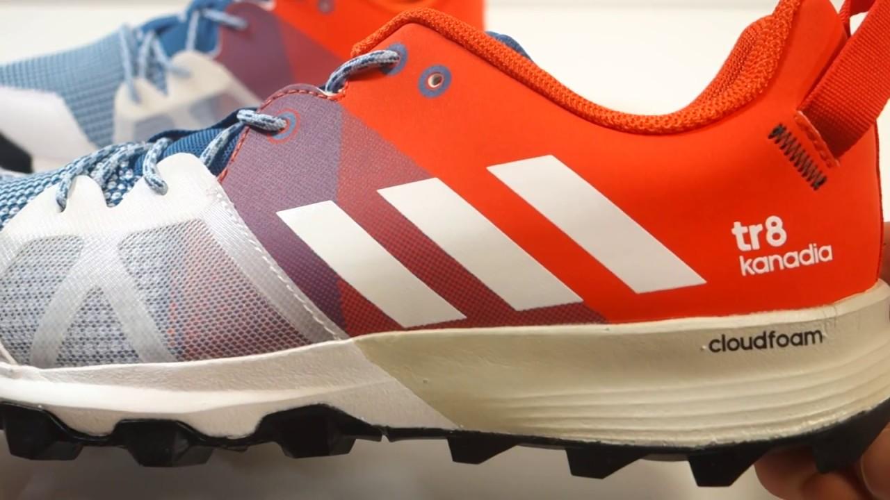 cc418713b3f4a Pánské běžecké boty adidas kanadia 8 tr m - YouTube