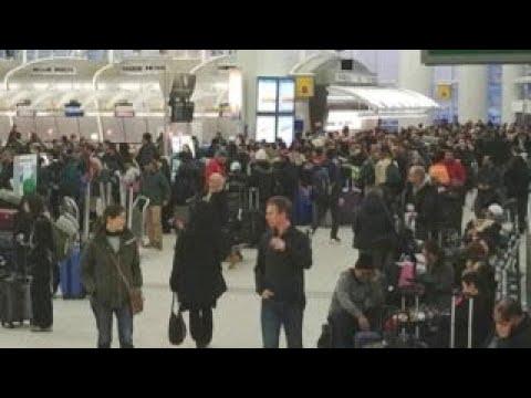 JFK flight backlog after winter storm causes major delays