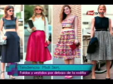 8eba139d6 Tendencia Midi Skirt, faldas y vestidos por debajo de la rodilla