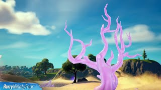 Destroy Crystal Trees All Locations - Fortnite