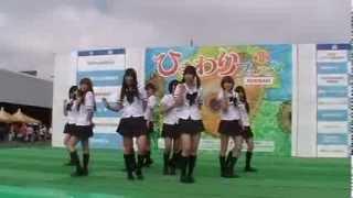 2013年10月6日 「青空彗星」CoverGirls(カバーガールズ) ひまわ...