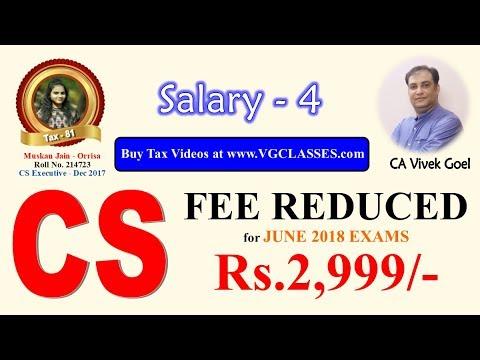 Salary Part 4 - Employee Provident Fund (AY 17-18) by CA Vivek Goel for May/June 2017 & Nov/Dec 2017