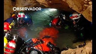 Os obstáculos que os mergulhadores enfrentam na Tailândia
