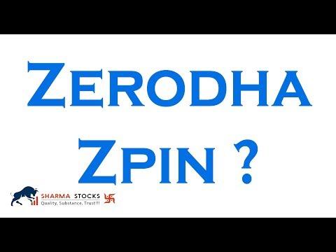 क्या है ? कैसे पता करे ? zerodha ZPIN  - sharmastocks.com