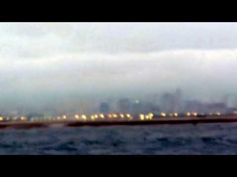 cloud condensation over Cebu City skyline