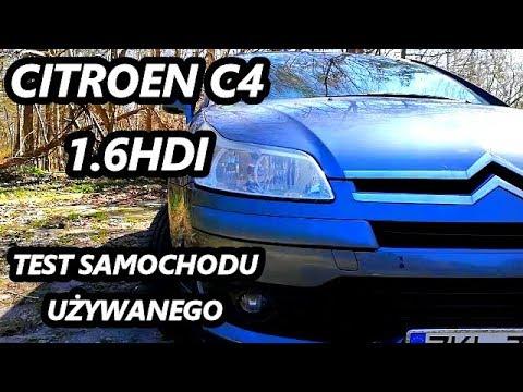 Citroen C4 1.6HDI - 109KM - test samochodu używanego PL