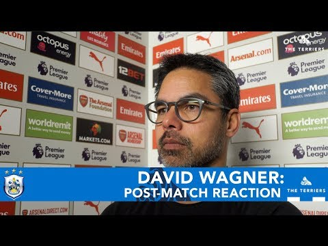 WATCH: David Wagner on Arsenal defeat