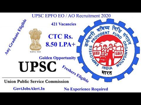 upsc-epfo-enforcement-officer-(eo)-/-accounts-officers-(ao)-recruitment-2020