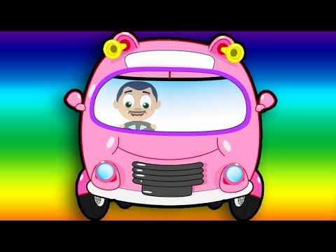 Otobüsün Tekerleği | Wheels on the bus türkçe | Otobüsün Tekeri Dönüyor | Türkçe Çocuk Şarkıları