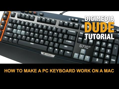 How To Make A PC Keyboard Work On A Mac