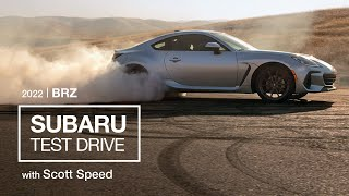 Scott Speed Test Drives All-New 2022 Subaru BRZ