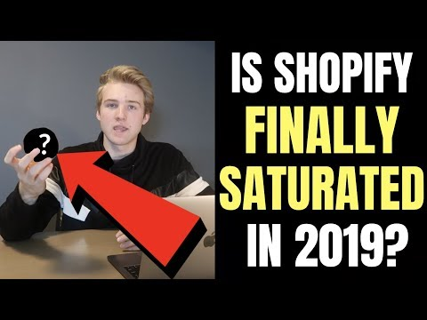 Is Shopify Dropshipping Too Saturated In 2019?