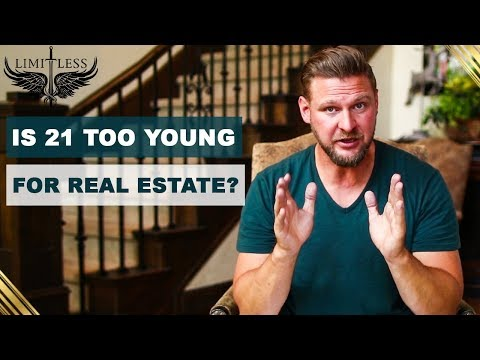 Getting Into Real Estate At Age 21