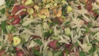 How To Make Pomegranate And Wild Rice Salad