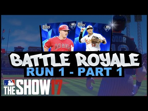 SO MANY DINGERS! WHY I HAVENT BEEN PLAYING BATTLE ROYALE! MLB 17 BATTLE ROYALE!