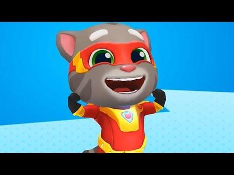 Talking Tom Hero Dash Walkthrough Part 1 (Android iOS Gameplay)