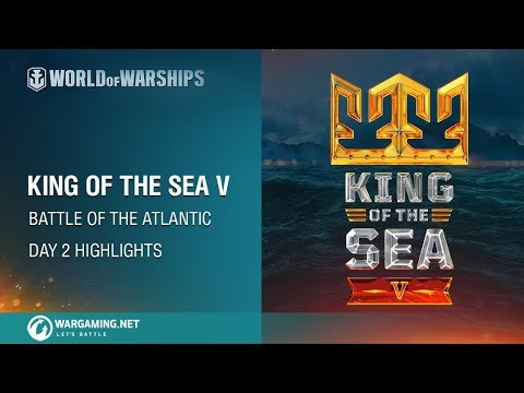 World of Warships – King of the Sea V: Day 2 highlights