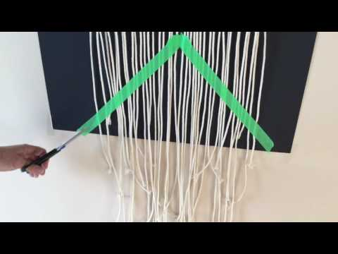 Macrame techniques - How to finish off your cord ends