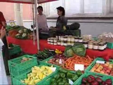 Discoveries of Austria -- Market action in Gleisdorf