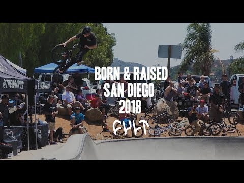 CULTCREW/ CHASE HAWK/ BORN & RAISED San Diego 2018