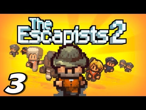 The Escapists 2 - THEY FLUSHED MY POSTER - Episode 3 (Escapists 2 Gameplay Playthrough)