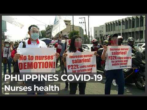 Philippines COVID: Nurses disproportionately succumb to viru