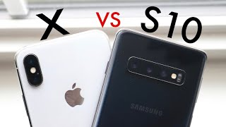 iPhone X Vs Samsung Galaxy S10 In 2020! (Comparison) (Review)