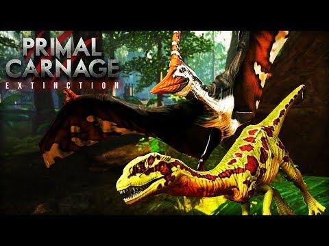 PTERAS CAN PICK UP DINOS?!? | Primal Carnage: Extinction Gameplay
