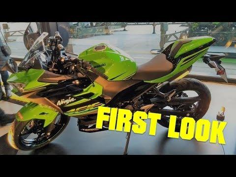 2018 Kawasaki Ninja 400 First Look Featuring Akrapovic Exhaust